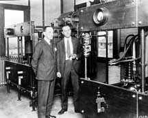 Marconi visits shortwave station