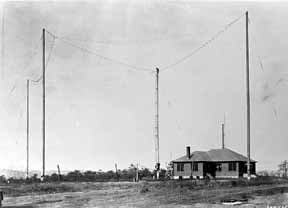 Shortwave station circa 1924