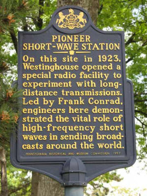 Shortwave historical marker